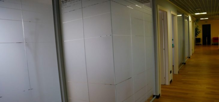 Vetrofanie per ufficio
