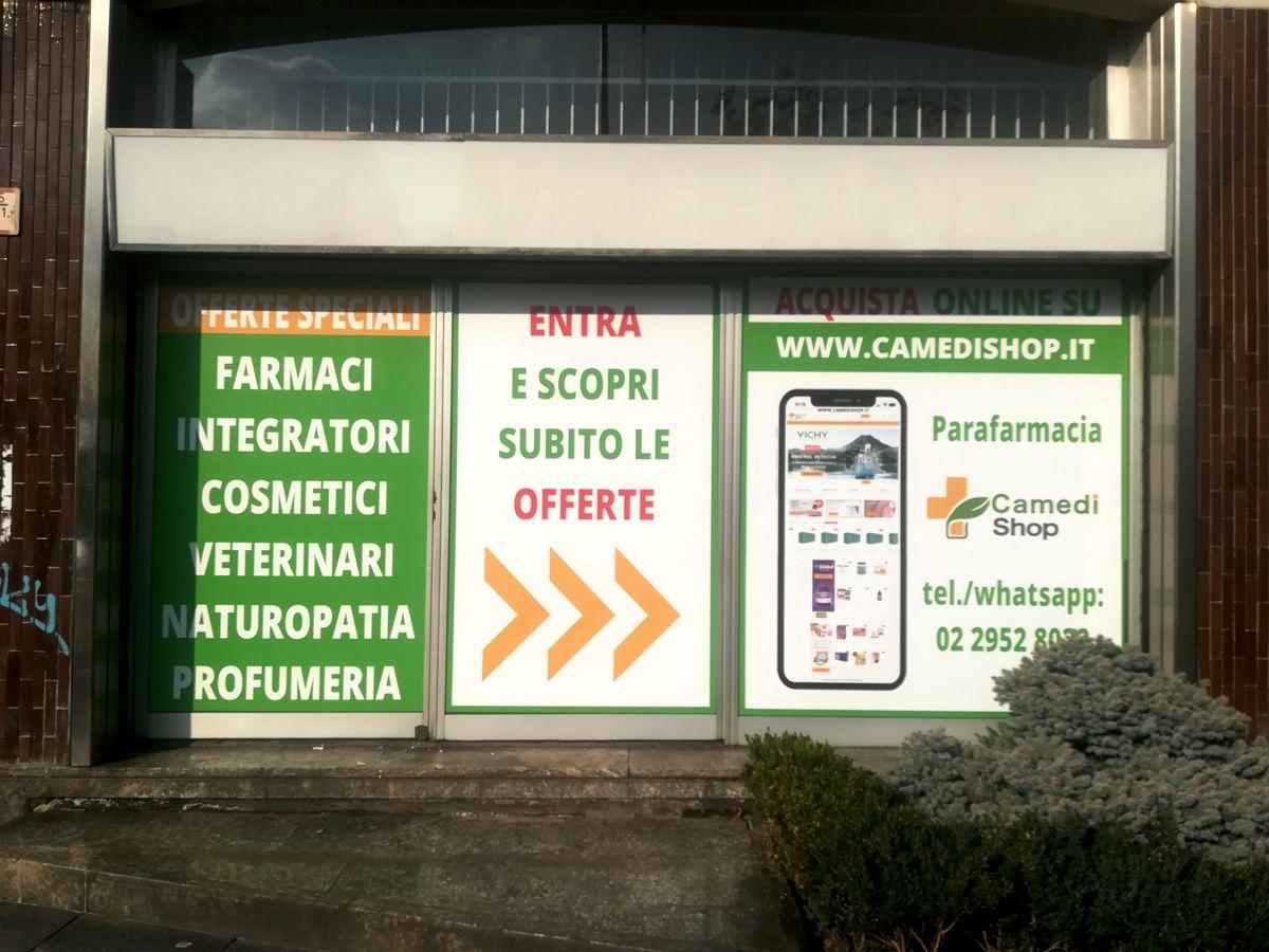 Vetrofanie a Milano